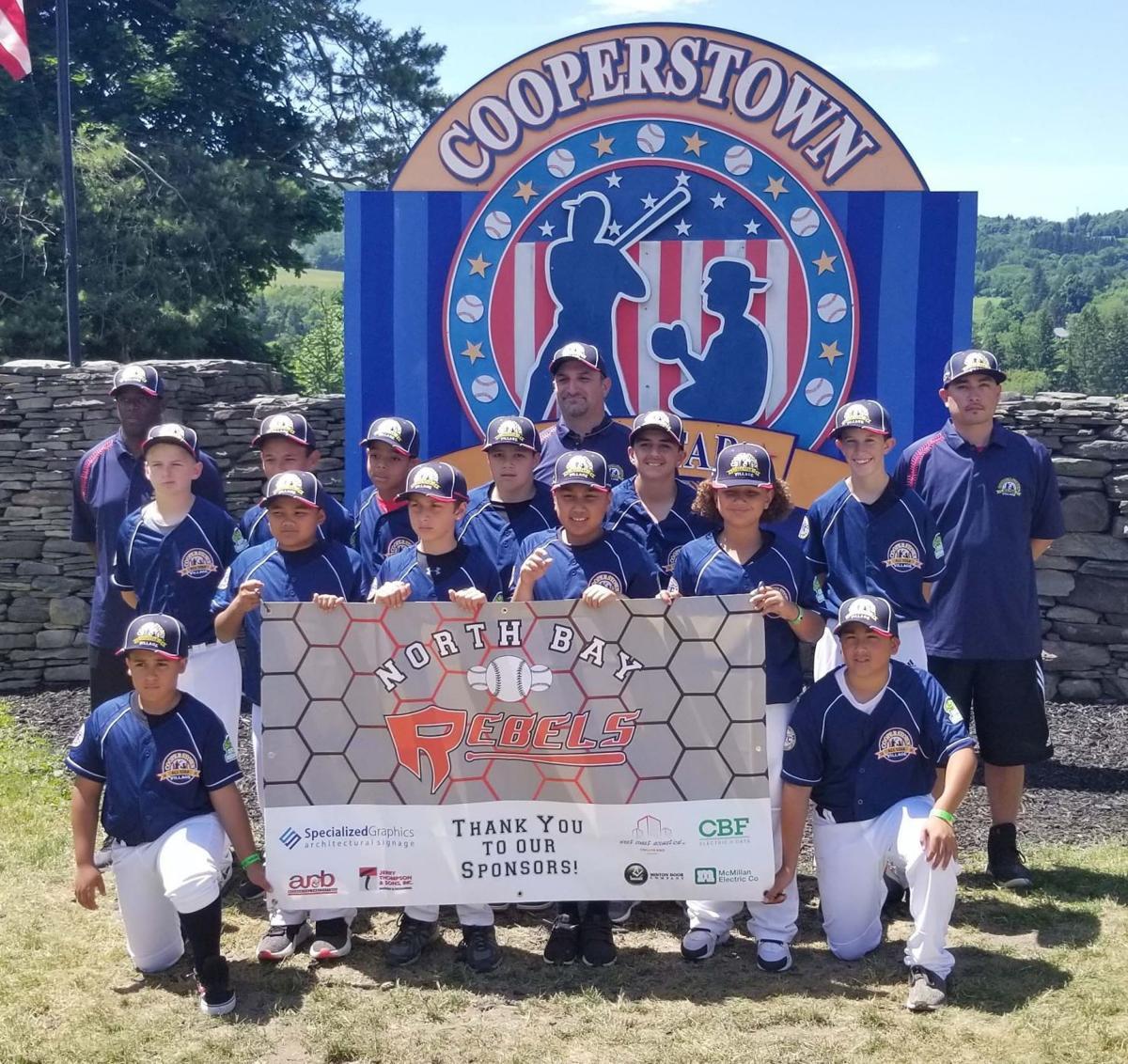 American Canyon/North Bay Rebels 12-and-under baseball team