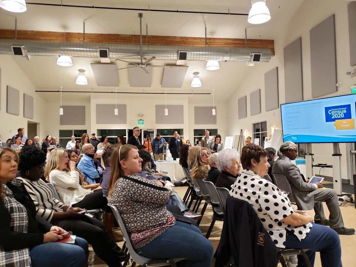 American Canyon state of the city crowd shot