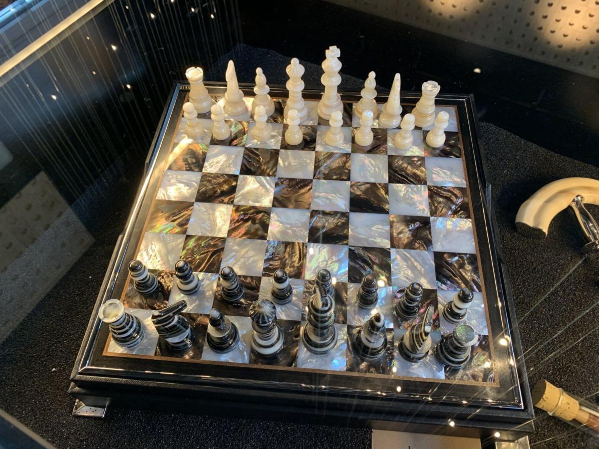 A $17,000 chess set at Mayacamas Downtown