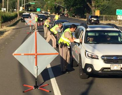 California Highway Patrol checkpoint 5/11/2019