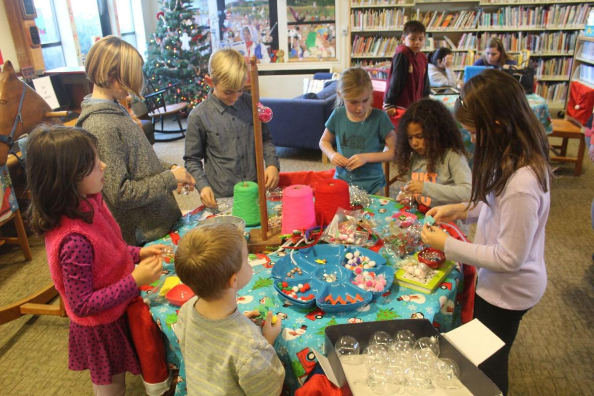 Making Christmas ornaments