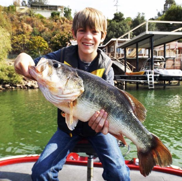 Bass bite is red hot on lake berryessa bill ryan for Fish cleaning station near me