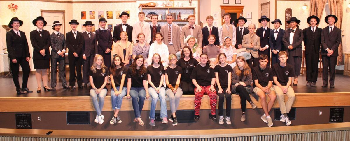 St. Helena Drama's cast and crew