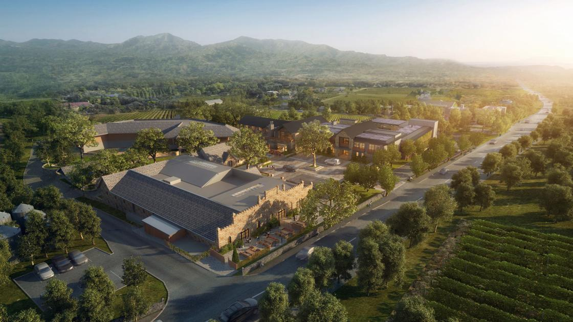 One rural Napa County hotel wrapping up, another on the horizon
