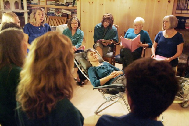 Threshold Choir practice
