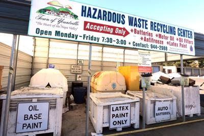 Yountville Hazardous Waste Recycling Center