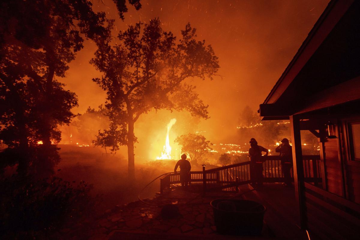Firefighting crews make slow progress with California fires