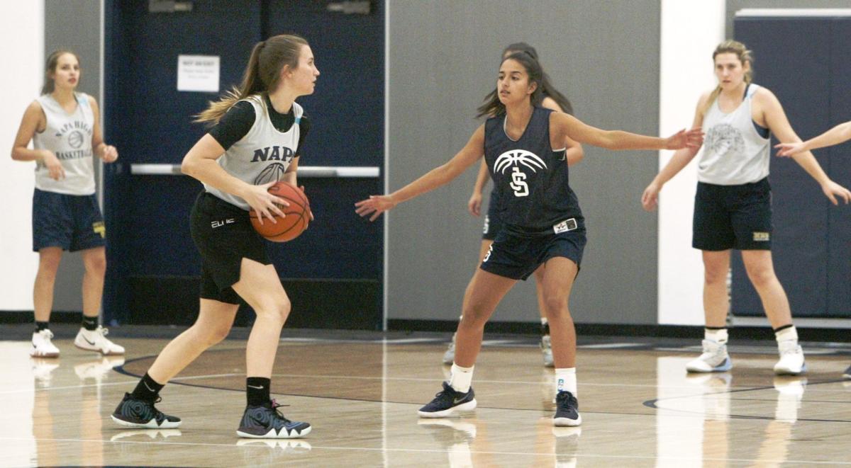 Napa High girls basketball