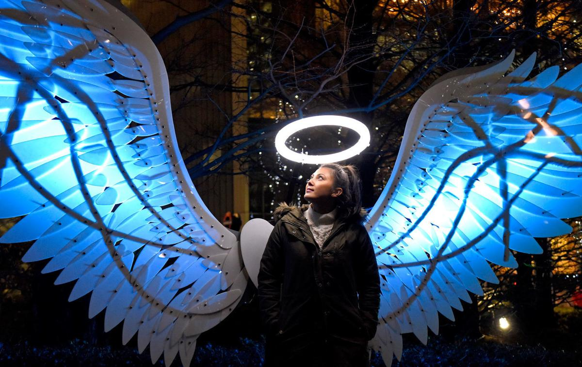 Angels of Freedom coming to the Napa Lighted Art Festival