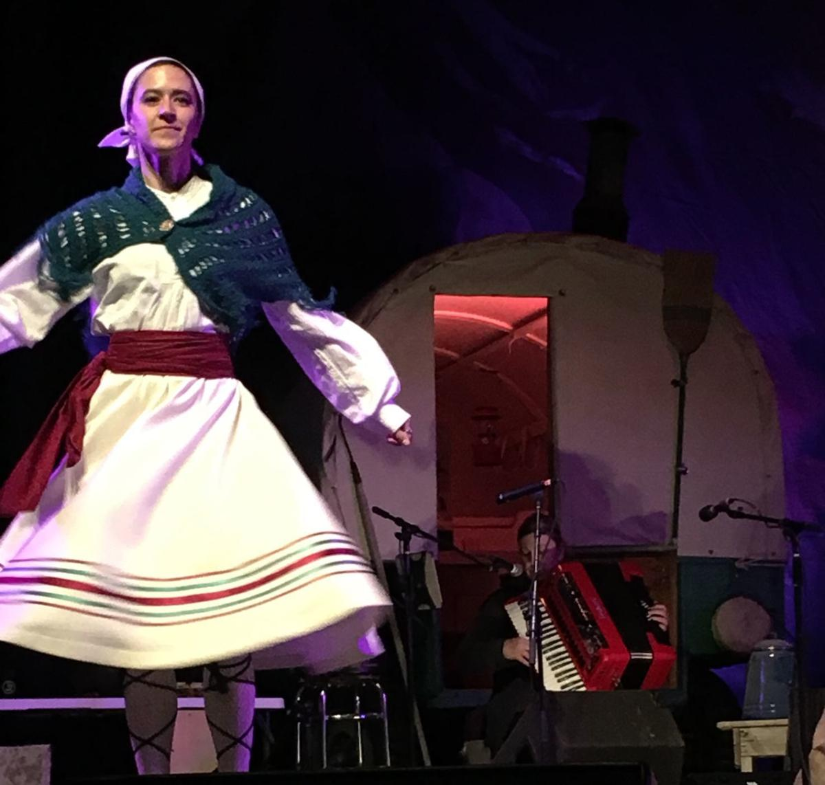 Basque dancer