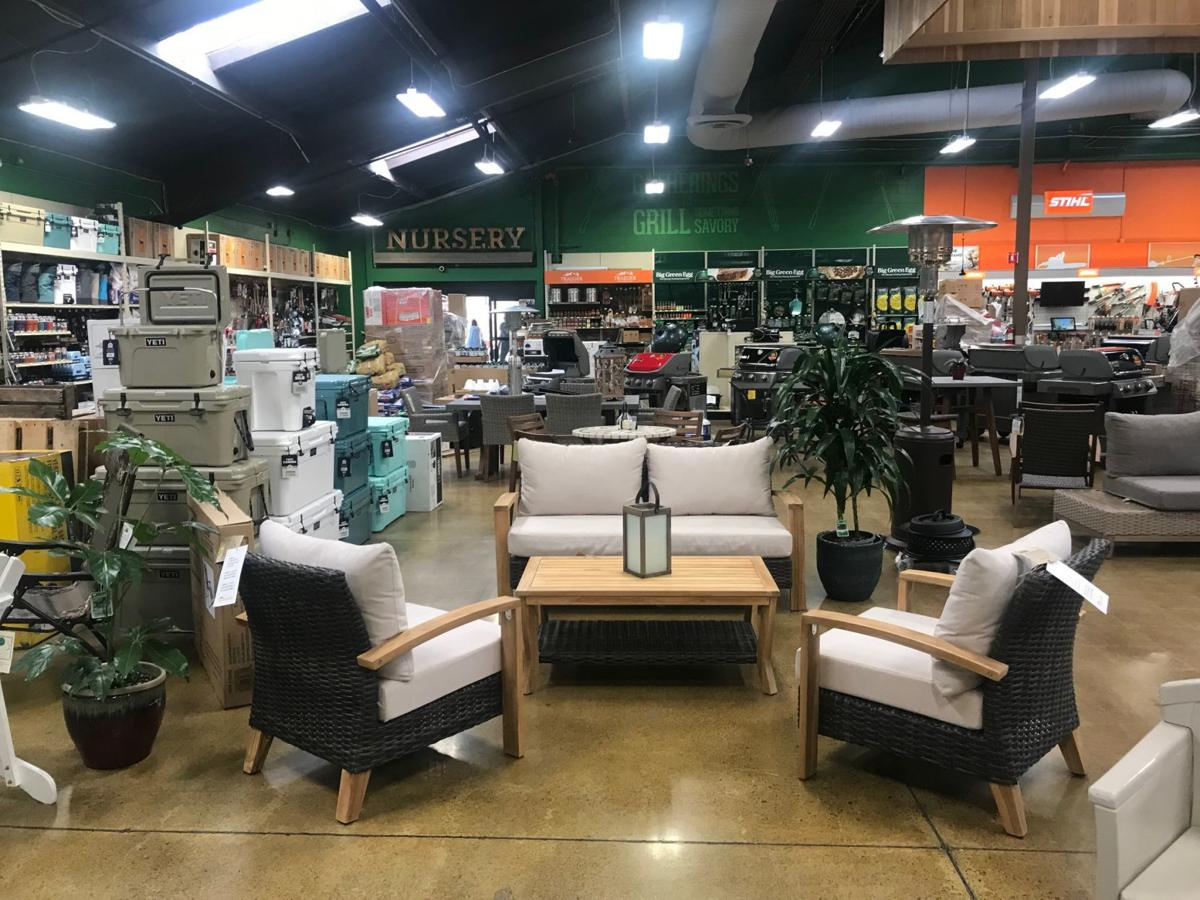 Inside the new Outdoor Supply Hardware store in north Napa.