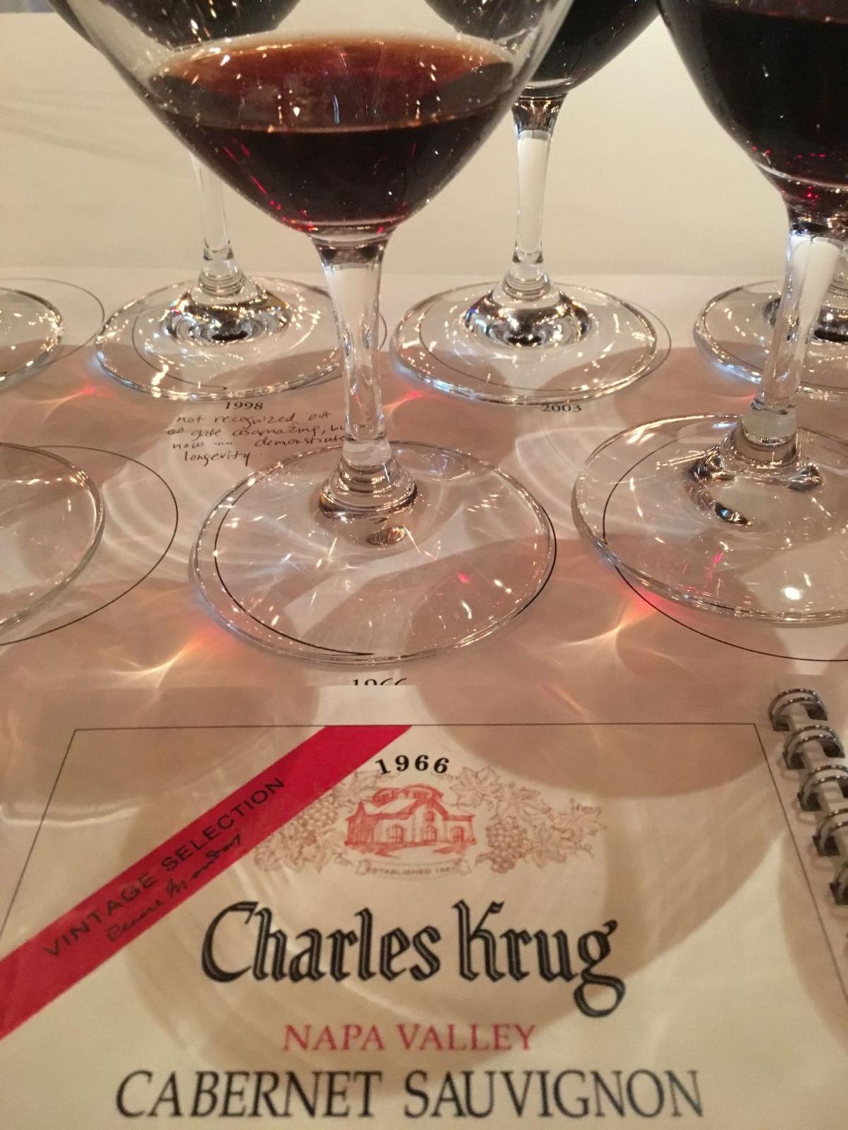 Charles Krug Vintage Selection Cabernet Sauvignon