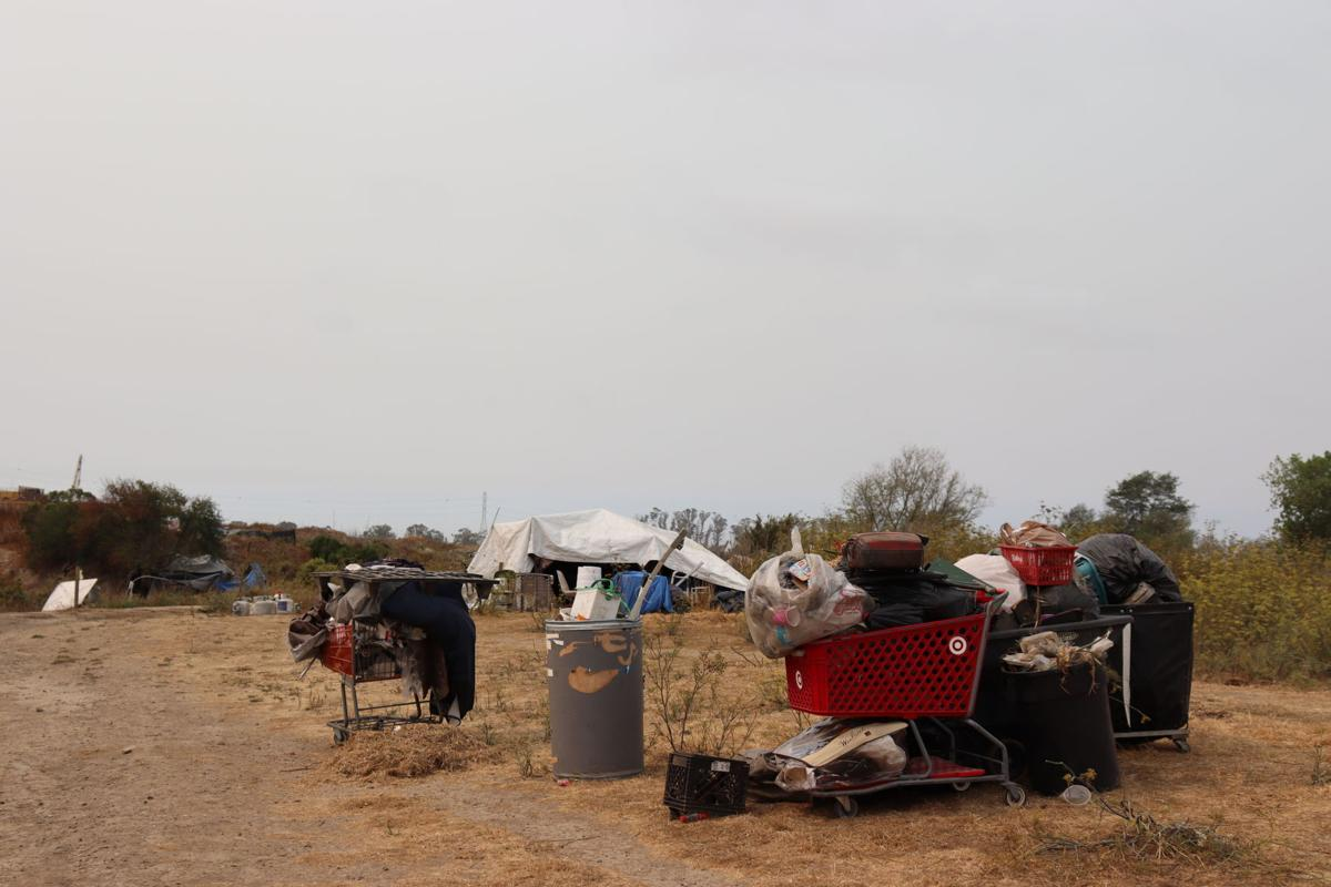 Trash at Kennedy Park