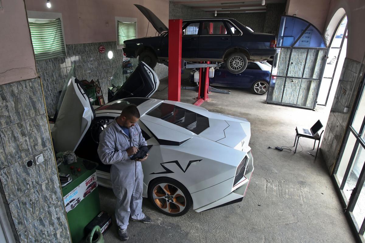Kosovo Lamborghini Replica