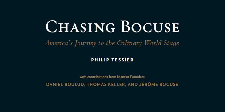 "Philip Tessier ""Chasing Bocuse"" Demonstration and Book Signing"