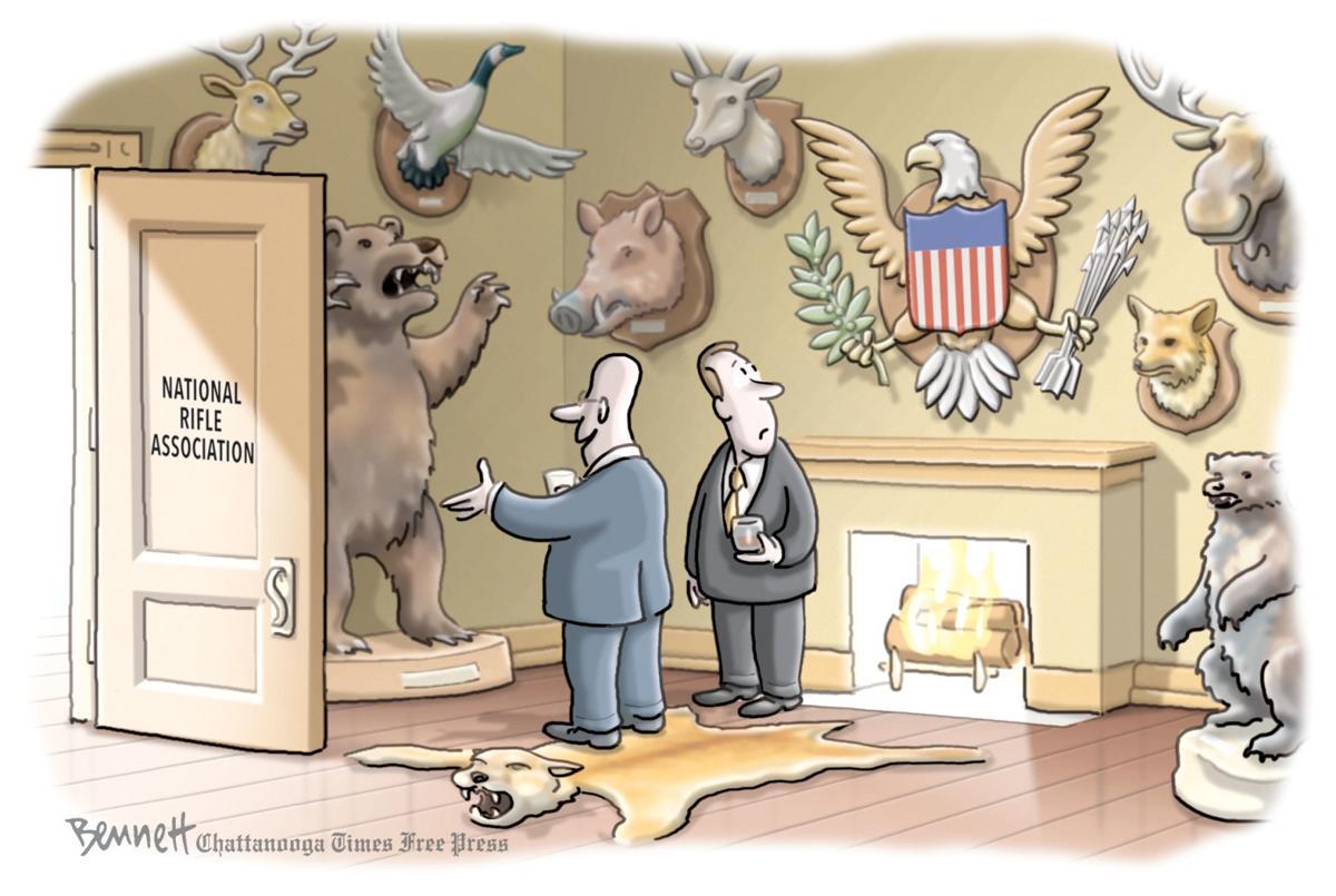 Clay Bennett editorial cartoon
