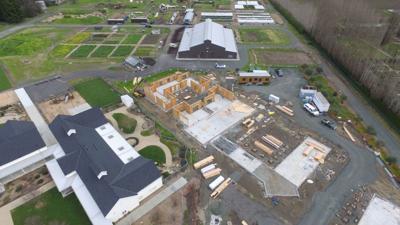 St. Helena Montessori School construction