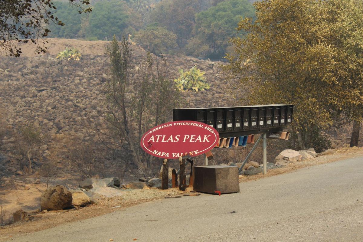 Atlas Peak AVA sign
