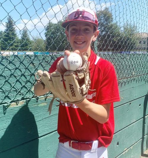 "Napa Little League pitcher Connor ""Goose"" Zuehlsdorff"