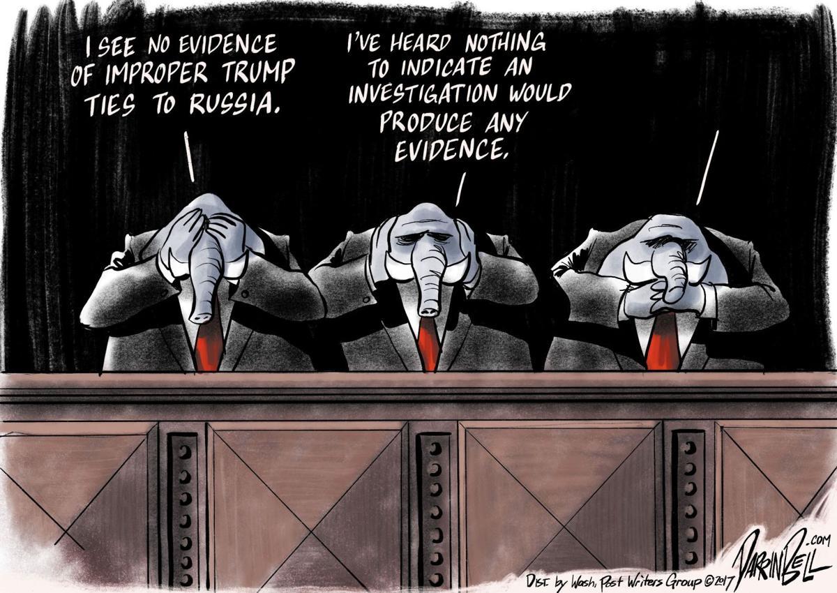 Darrin Bell editorial cartoon