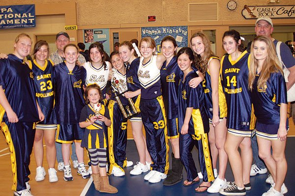 St. A's girls capture NIT hoops title