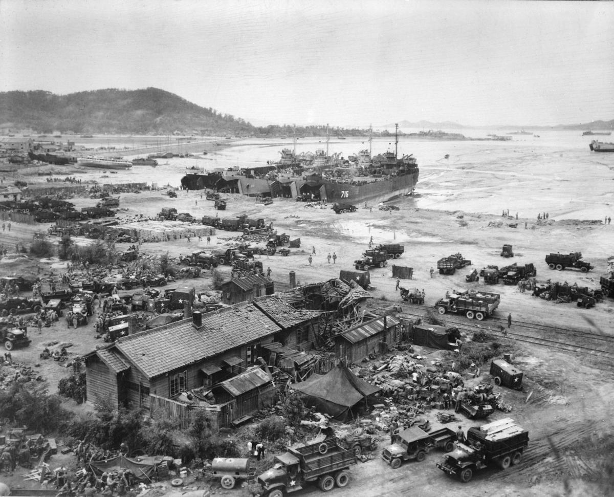 The Forgotten War: Daring amphibious landing at Inchon turns the tide