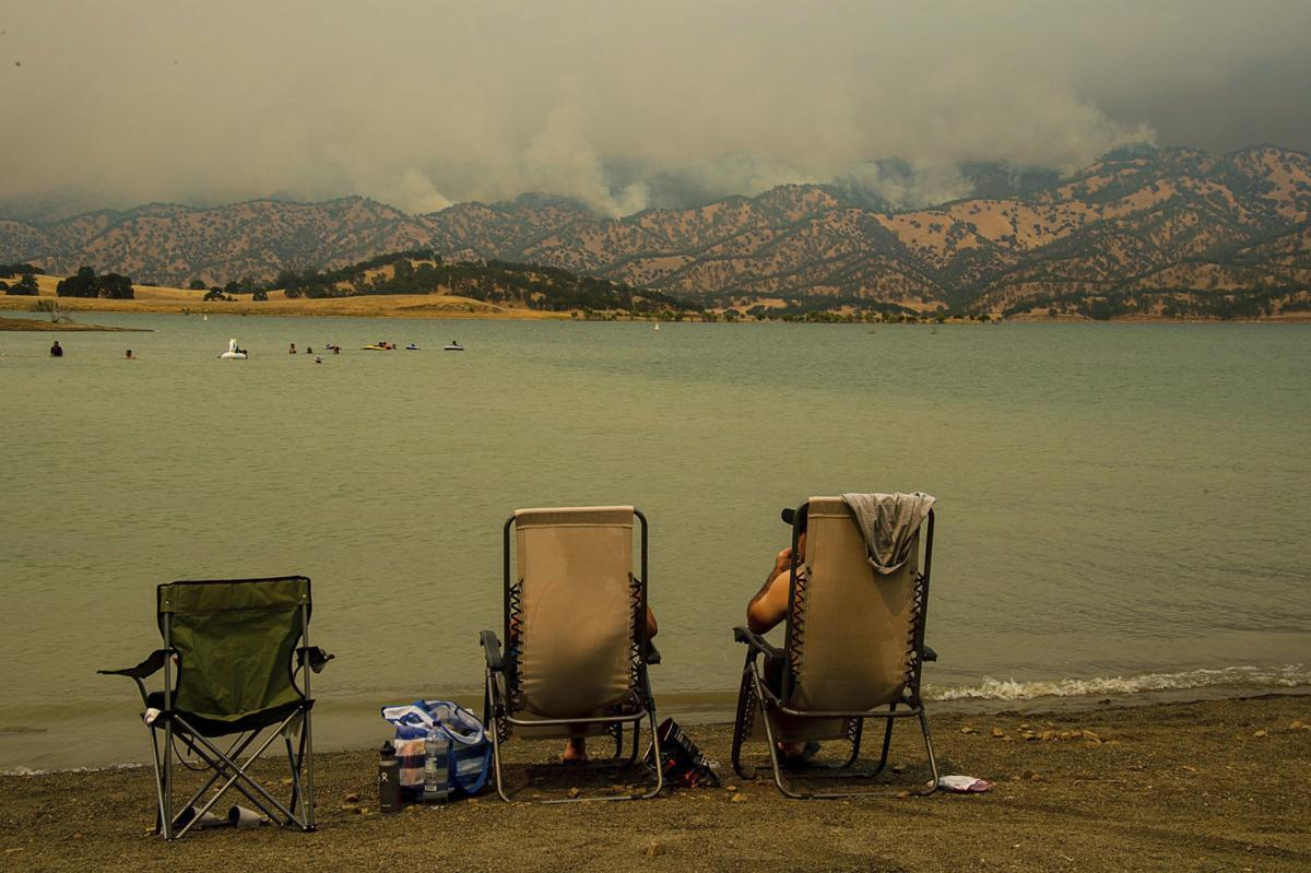 Lake Berryessa Fire Map.County Fire Rattles Nerves At Napa S Lake Berryessa Local News