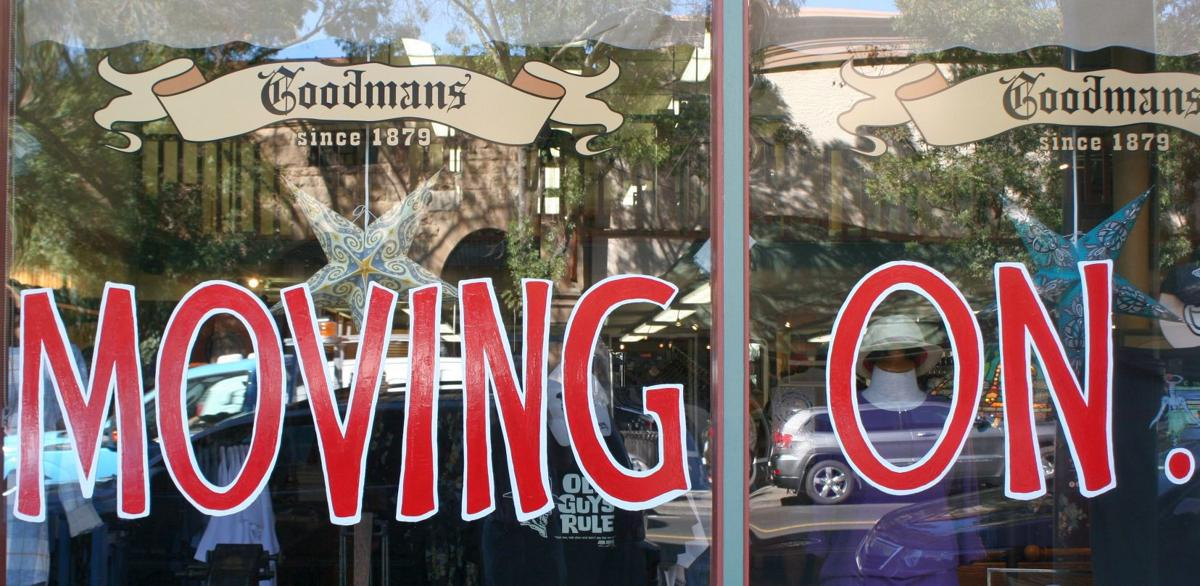 """Moving On"" Goodman's relocated to Calistoga"