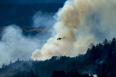 California utility admits it may have ignited fire (copy)