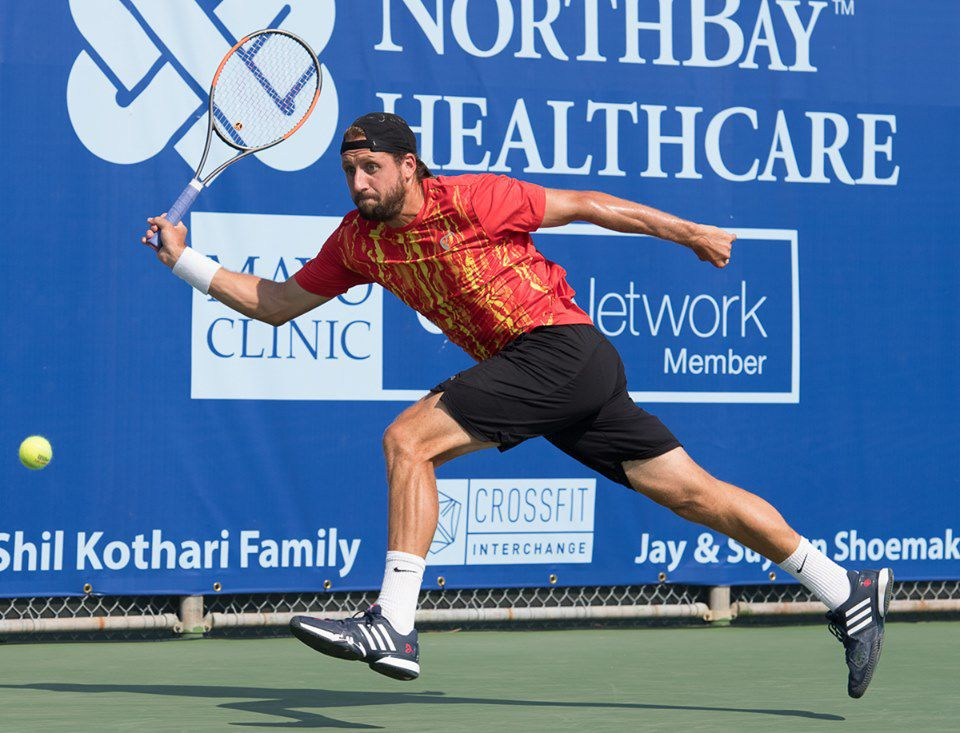 Professional Tennis: NorthBay Healthcare Men's Pro Championship in