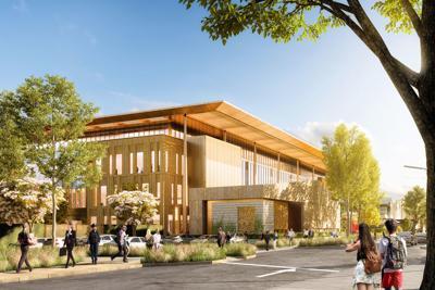 Napa civic center project