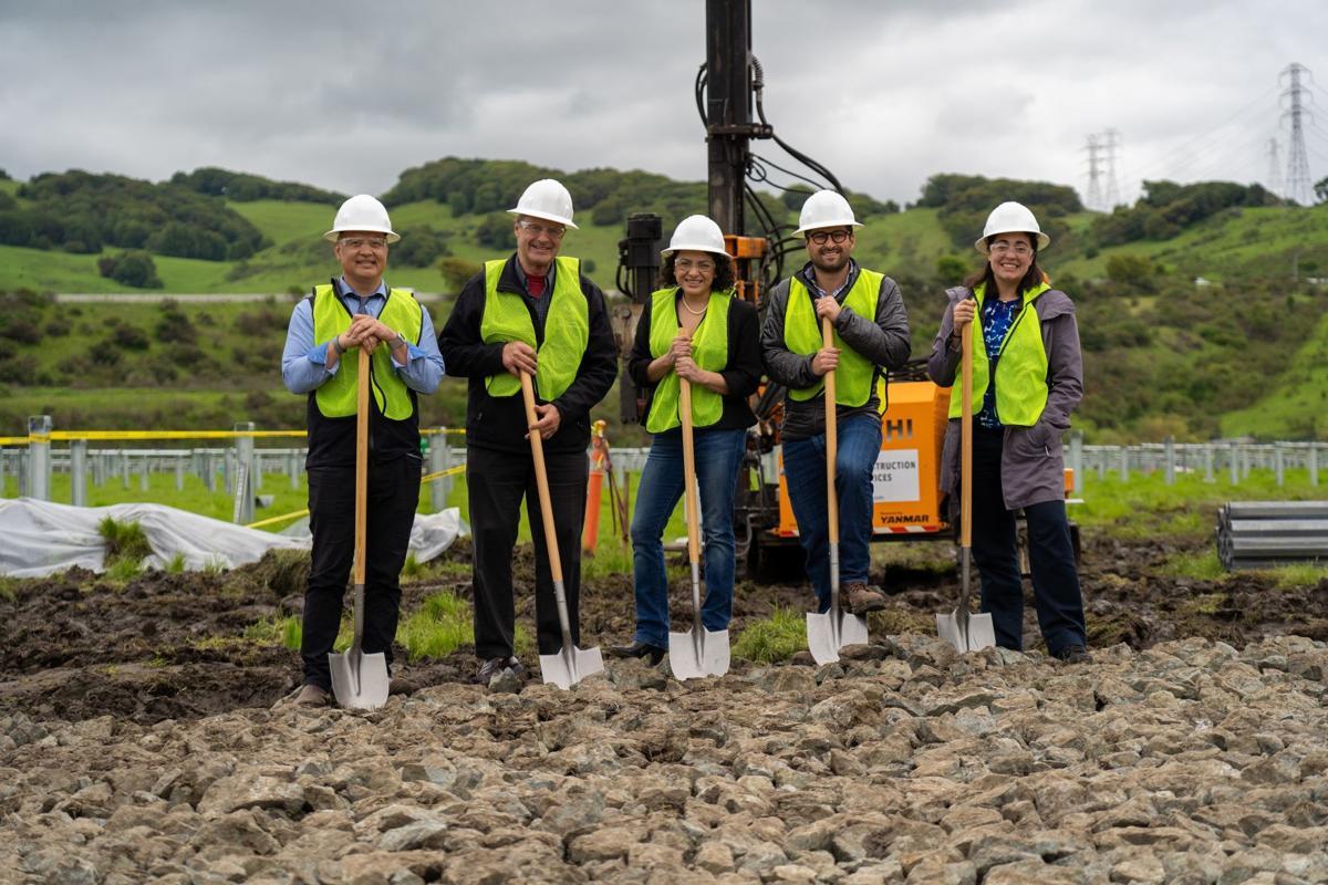 American Canyon Solar Project groundbreaking