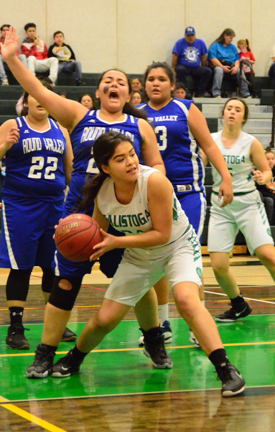 Calistoga High Girls Basketball