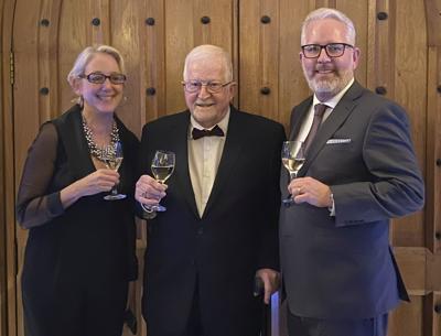 Catherine Bugue, Jurg Oggenfuss and Christian Oggenfuss