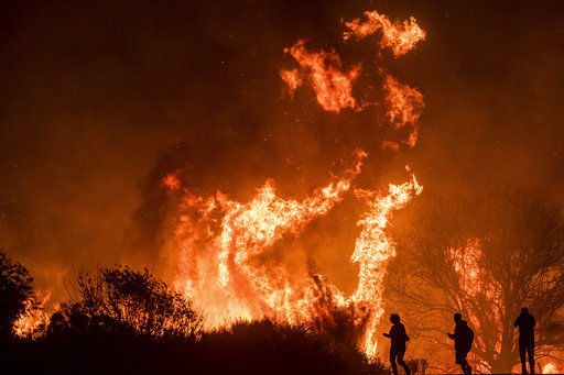 Bel-Air wildfire joins the siege across Southern California