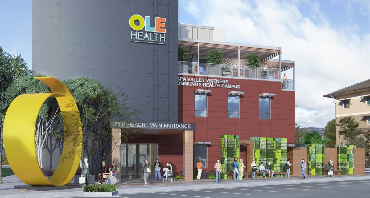 OLE Health public art
