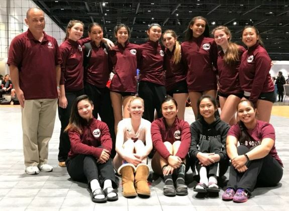 Club Solano Volleyball 15-1 Maroon team