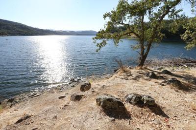 Napa water supply at Lake Hennessey (copy)