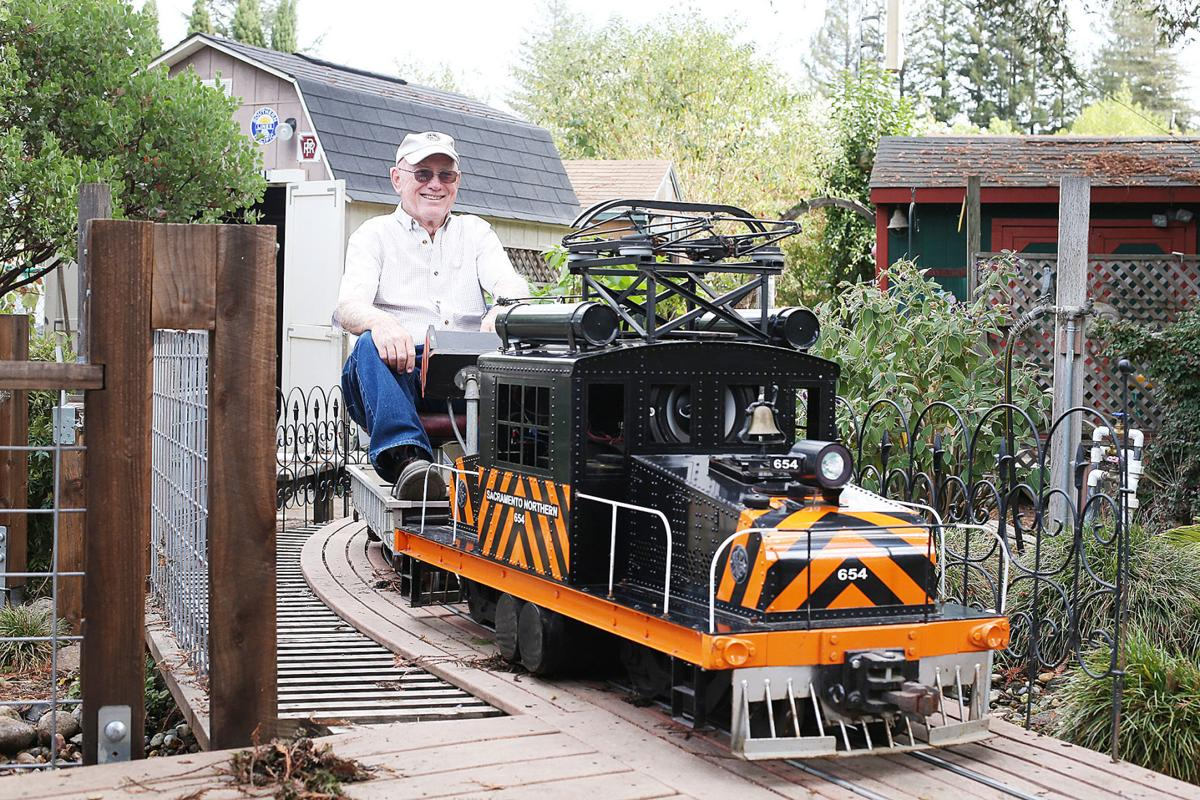 professional engineer runs his own railroad at home local news