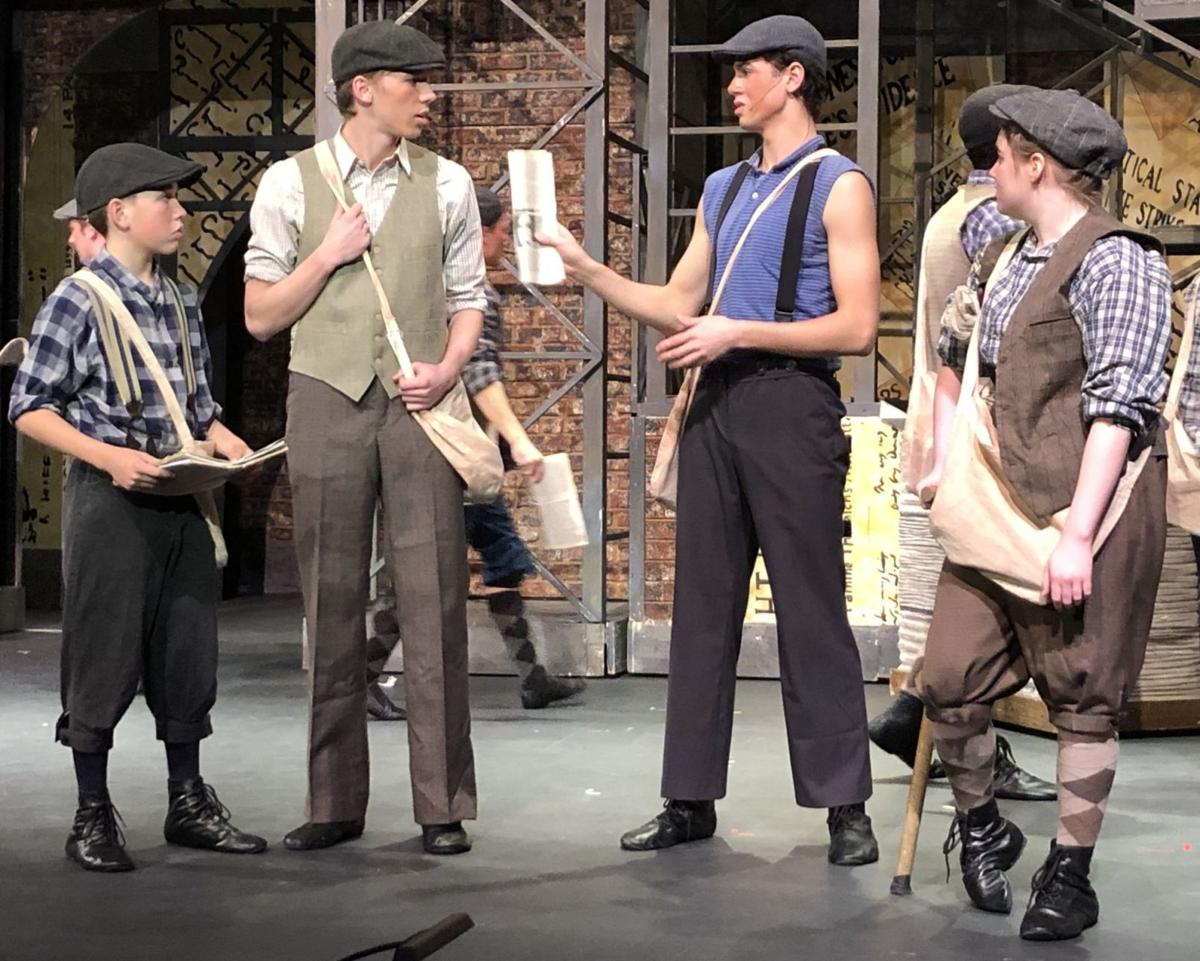 "'Newsies"" in St. Helena"
