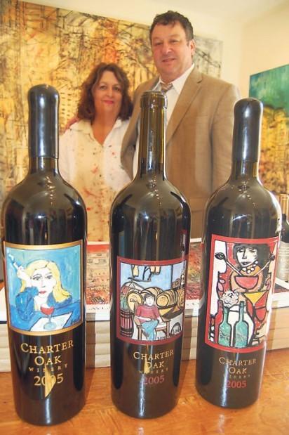 Charter oak wine