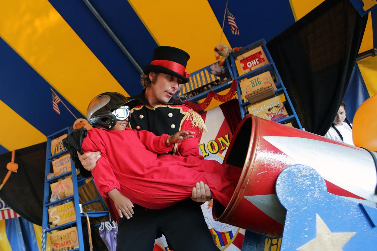 Circus Imagination at the Town & Country Fair
