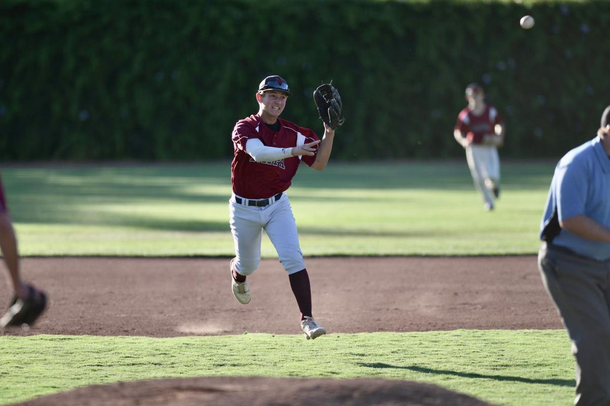 Dario Freschi of Napa Valley Baseball Club's 15U team