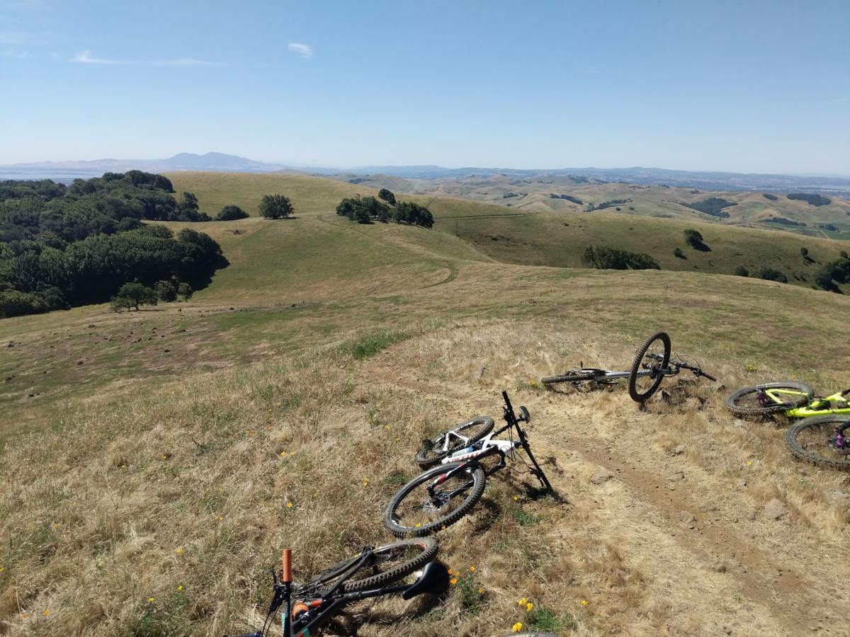 Mountain biking in Napa