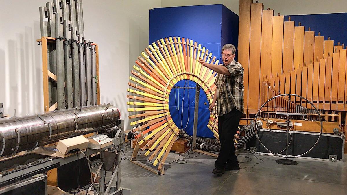 Napa Valley Museum's 'SoundMaze'