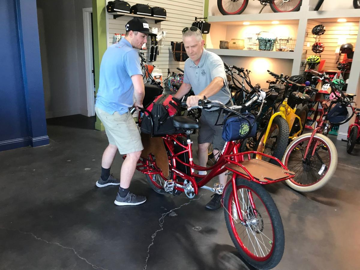 """Napa Valley Bike Shop celebrated their first year in business as a """"real"""" bicycle shop on June 1."""