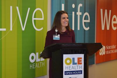 Alicia Hardy, CEO of OLE Health