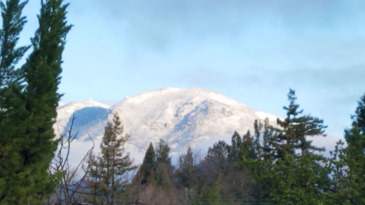 Snow on the mountain
