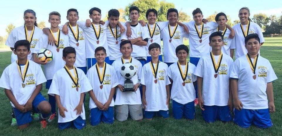 AC Atletico FC boys soccer team