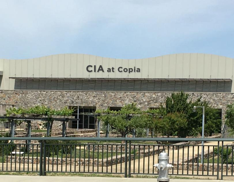 New sign for CIA at Copia